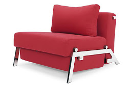The Cubed chair bed by Innovation