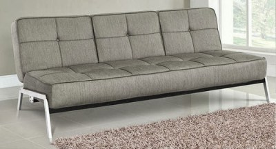 Logan Convertible Sofa Bed Ash by Lifestyle