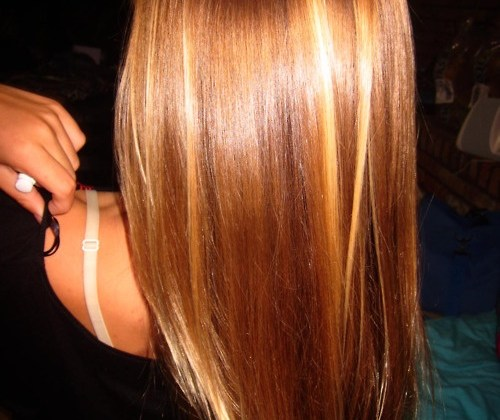 Fall hair colour and style