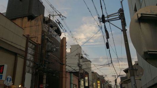 祇園の夕暮れ
