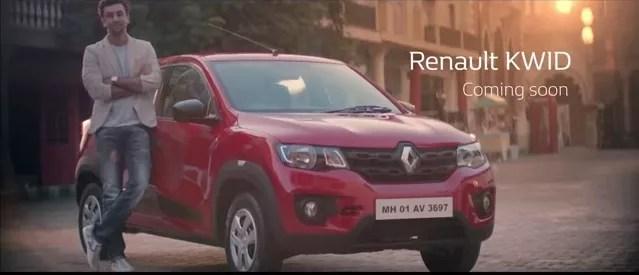 Renault kwid ad