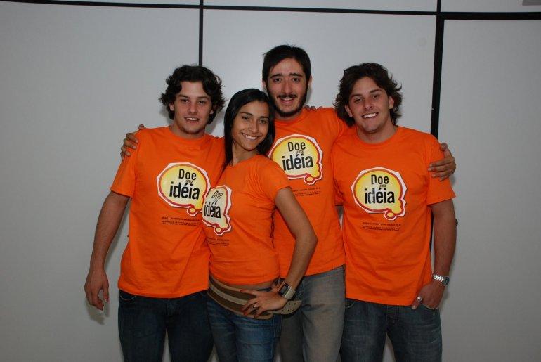 o quarteto 40, de 2008,não chegou a se concretizar, mas doou essa ideia para a campanha de 2010