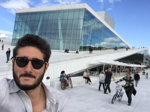 a casa da ópera em Oslo