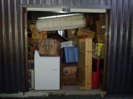 my belongings in storage