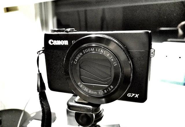 my canon G7x vlogging camera