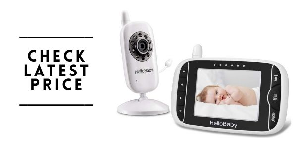 Hellobaby Video Baby Monitor with Camera and Audio