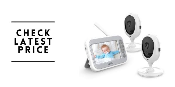 LBtech Video Baby Monitor with Two Cameras and 4.3 LCD