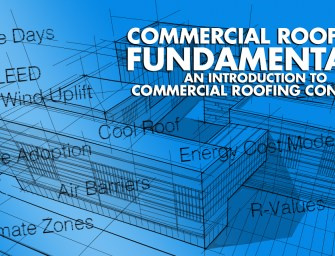 CRF3: Insulation for Low Slope Roofs