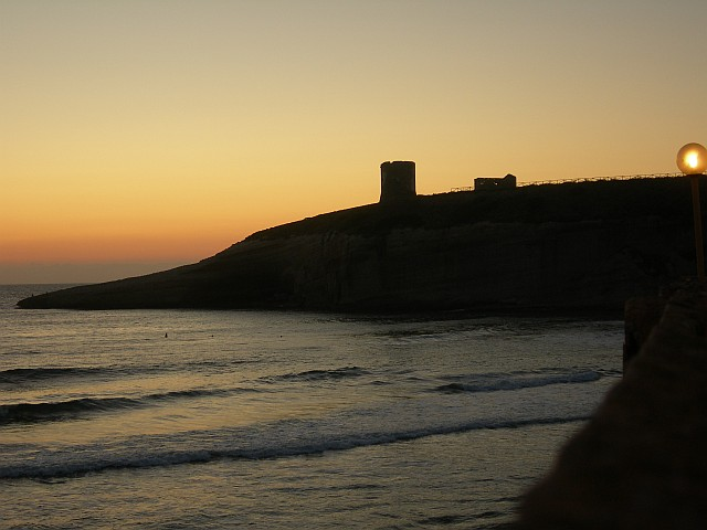 Sonnenuntergang Santa Caterina