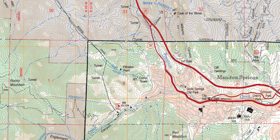 How to read a USGS Topo