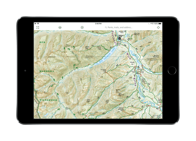 Gaia GPS Adds Bob Marshall Wilderness to National Geographic Map Layer