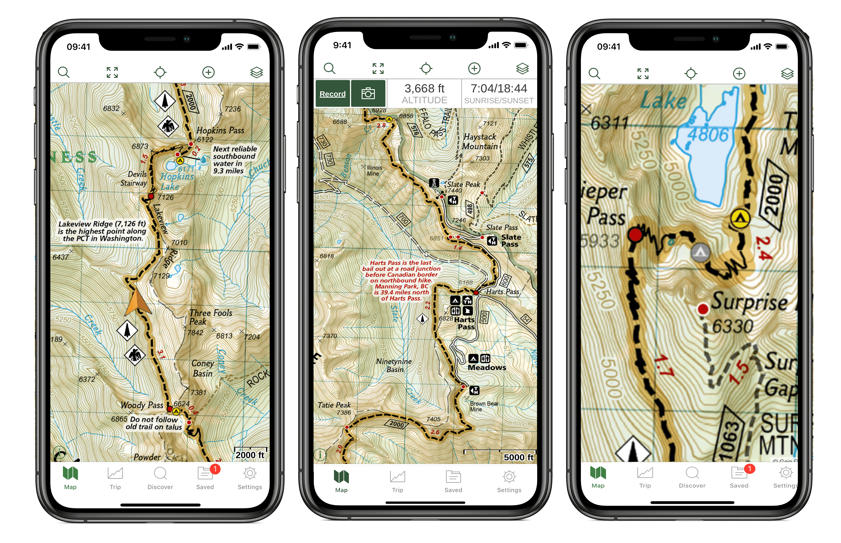 Pacific Crest Trail Maps Available in Gaia GPS, Starting with ...