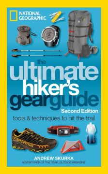 The cover of Andrew Skurka's book The Ultimate Hikers Gear Guide.