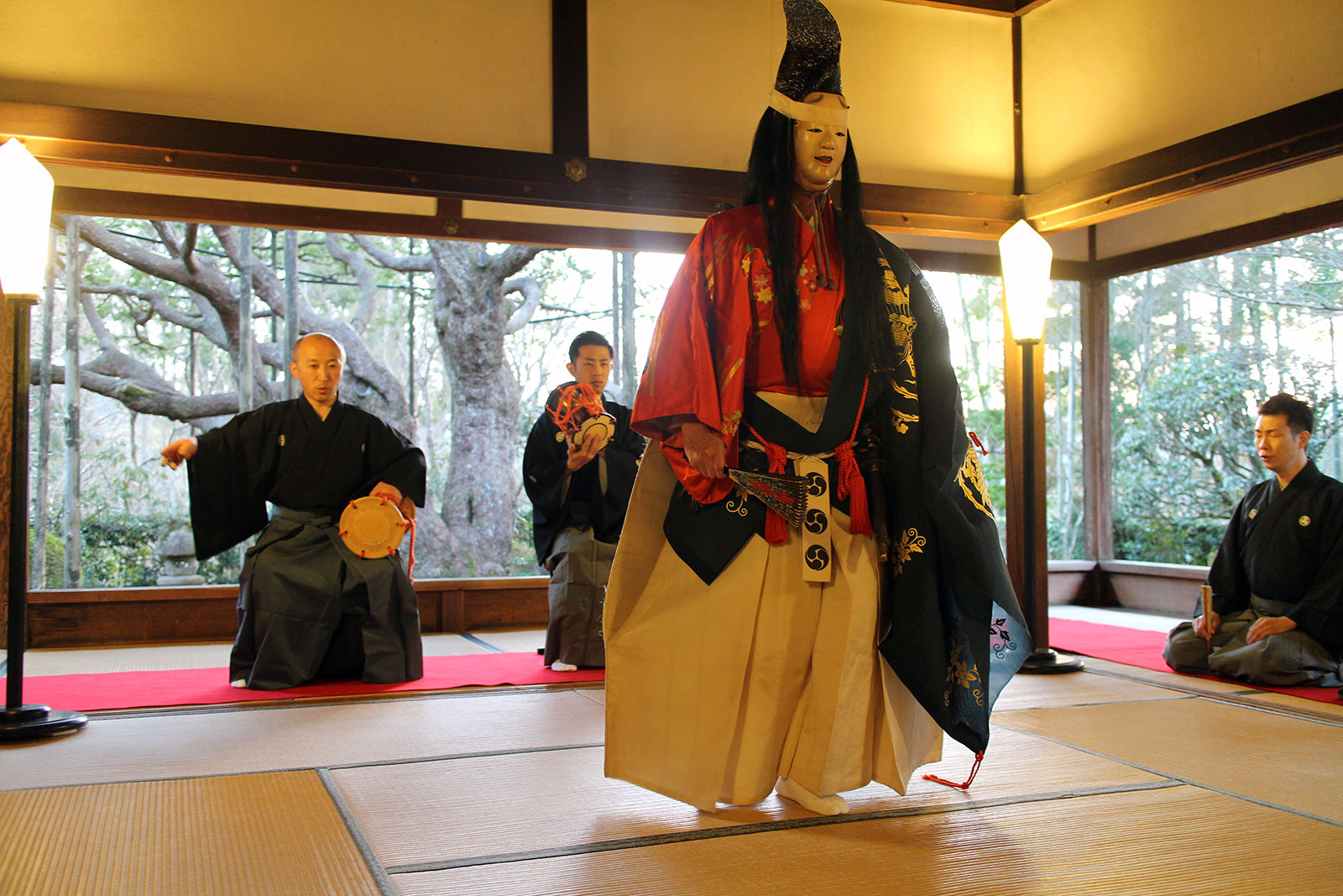 Classical Japanese Theater Noh Kyoto