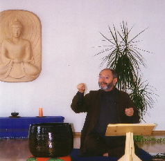 Karl bei Seminaren im Intersein Zentrum