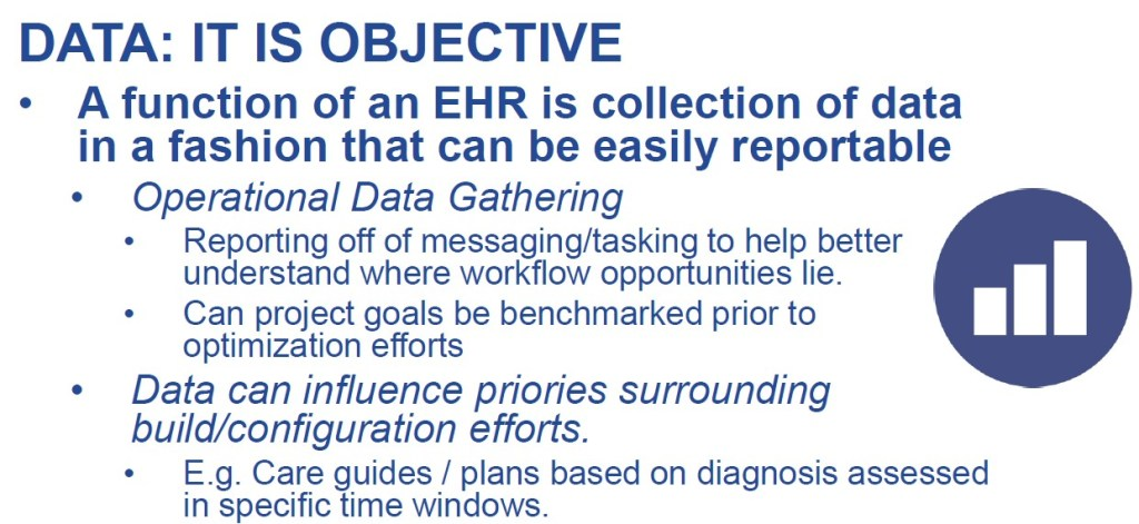 Data Objectivity EMR Optimization