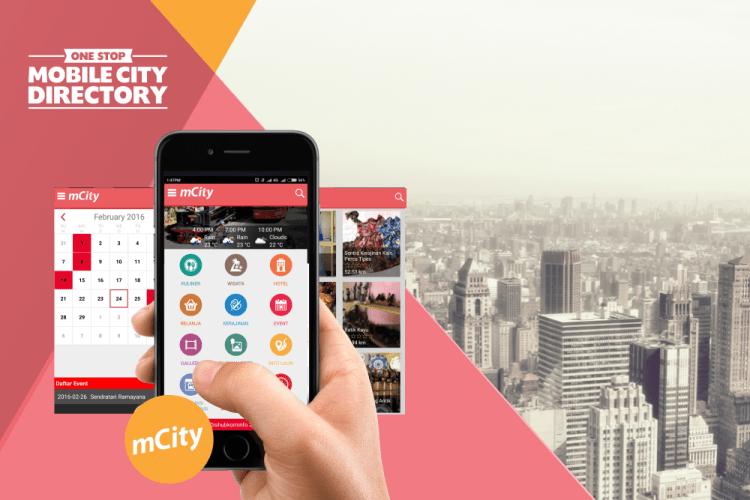 Contoh Aplikasi Smart City m-city