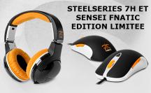 Steelseries Casque 7H et Souris Seisen édition limité de la team Fnatic