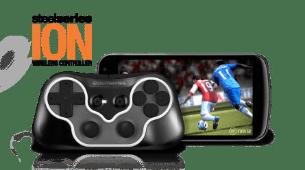 Gamepad Steelseries Ion pour PC et Mobile