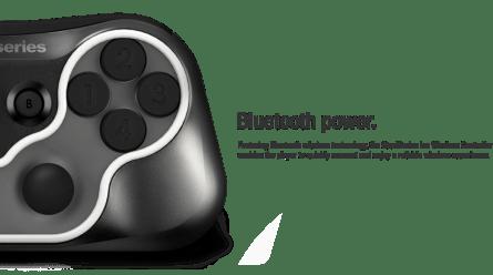Gamepad Steelseries Ion : connexion Bluetooth