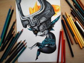 dessin-crayon-polaara-midna-la-legende-de-zelda