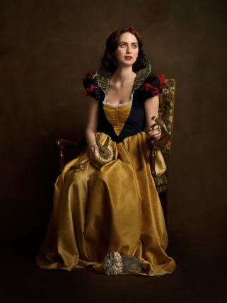 sacha goldberger super heros flamands Blanche Neige