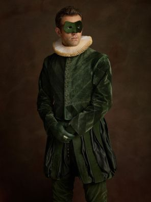 sacha goldberger super heros flamands Green Lantern