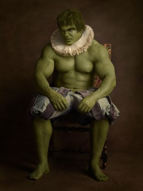 sacha goldberger super heros flamands Hulk