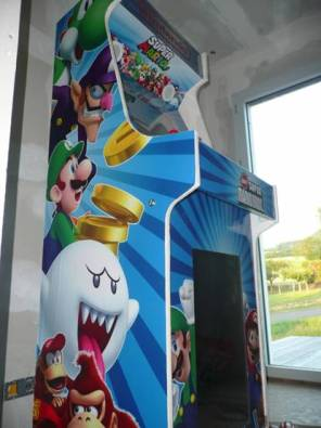 Borne arcade virtua-flipper