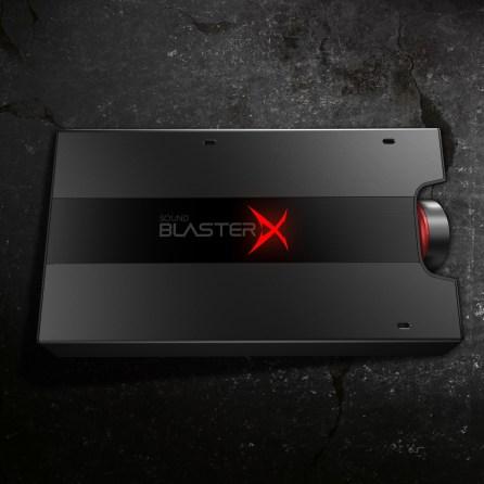 Creative lance Sound BlasterX