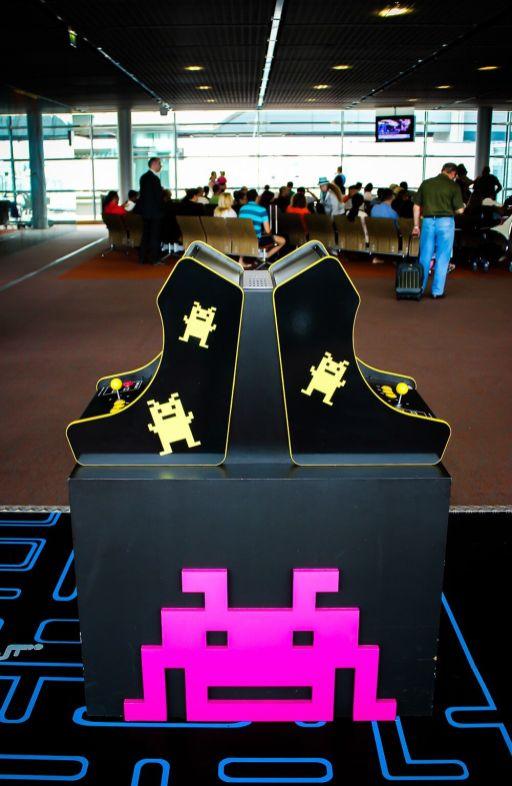 Neo Legend - Bornes arcade aeroport Paris