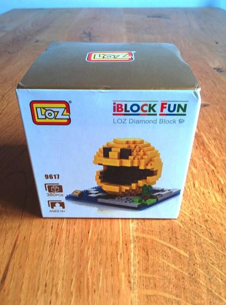 briques LOZ iBlock Fun - Pacman pixel