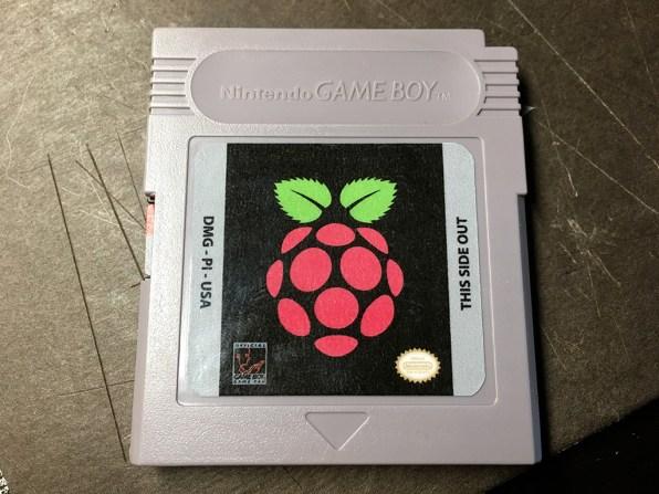 mod Game Boy - Raspbe-rry PI Zero - Cartouche
