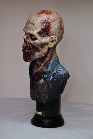 Bensculpt Creations - buste The Walking Dead