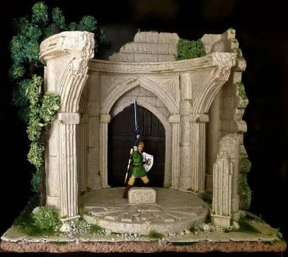 Diorama Zelda épée de légende