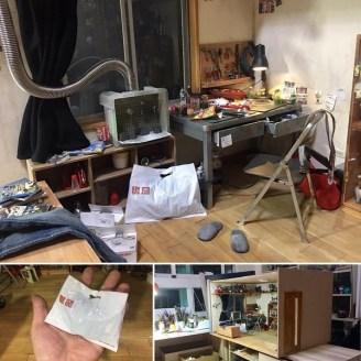 diorama chambre Geek - Hank Cheng