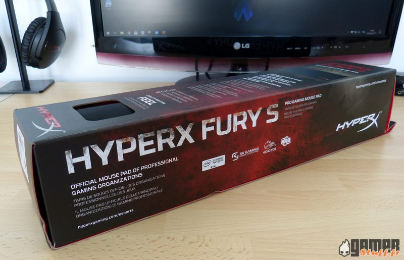 test hyperx fury s pro gaming tapis de
