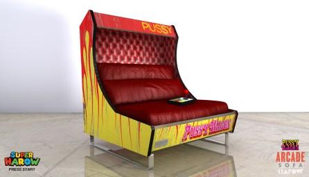 Harow Arcade Sofa - Kill Bill
