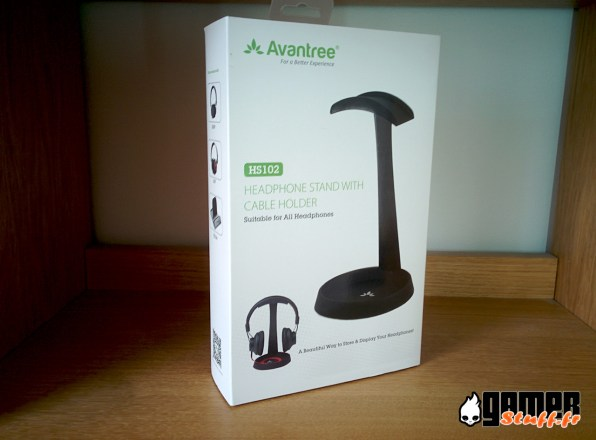 Test support casque universel Avantree HS102