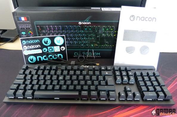 Clavier Nacon PCCL-700OM