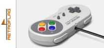 Manette Super Nintendo Retroflag Classic USB Controller | Swith, Raspberry PI, PC, MAC