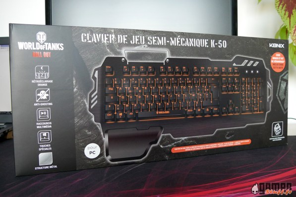 clavier konix k50 world of tanks