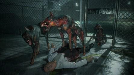 Residen Evil 2 dogs