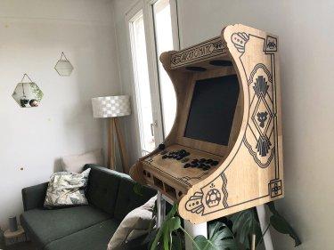 borne arcade DIY Recalbox - Les Freres Poulain