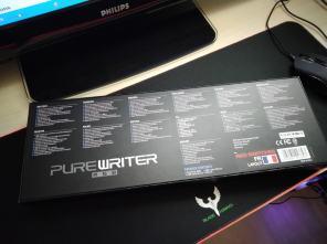 Clavier Sharkoon Purewriter RGB