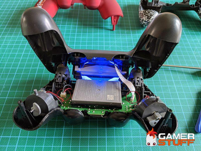 Démontage d'une manette Playstation Dualshock 4 v2