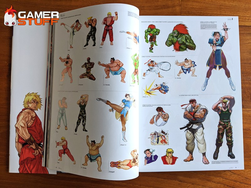 livre Mana Books - Street Fighter l'art book