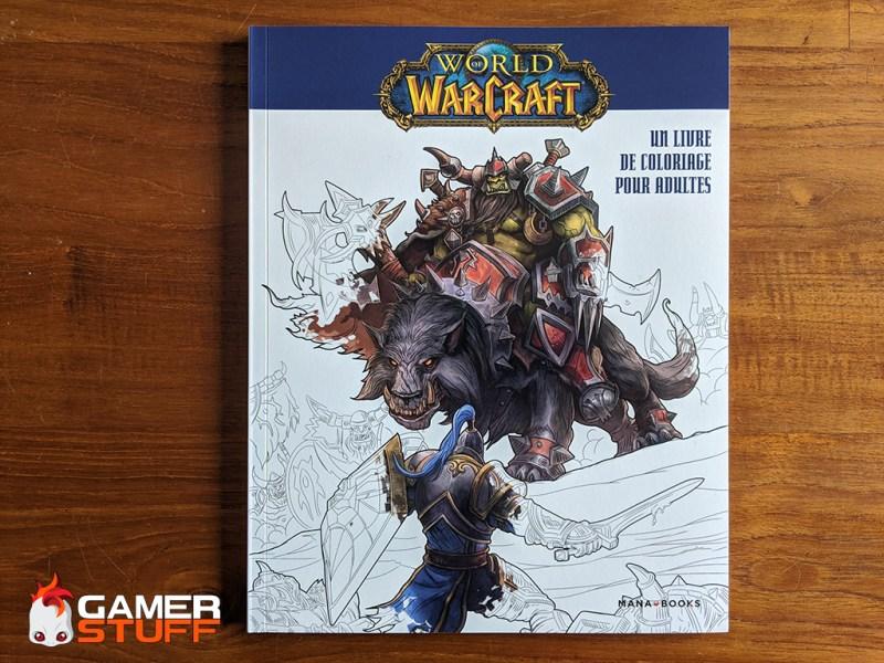 Mana Books - Livre de coloriage pour adultes World of Warcraft
