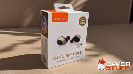 test écouteurs casque Creative Outlier Gold