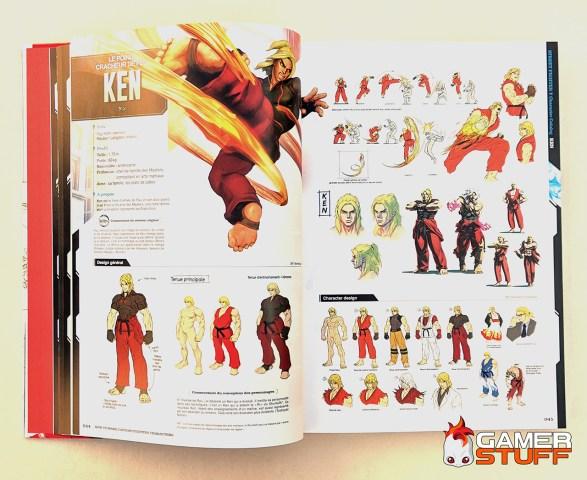 avis livre How to Make Capcom Fighting Characters - Kuro POP